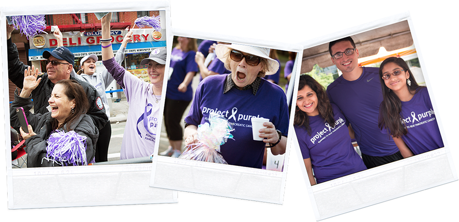 Project Purple Volunteers